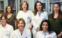 Equipo de investigadores del Servicio de Alergia del Clínico San Carlos