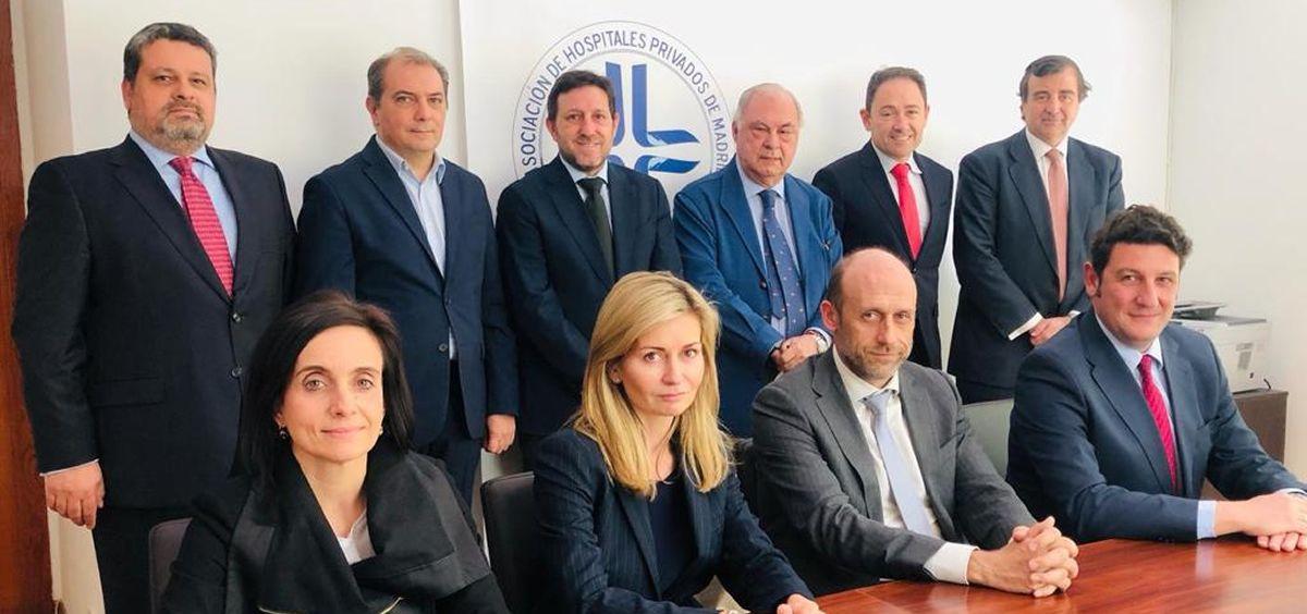 Junta Directiva de la Asociación de Centros y Empresas de Hospitalización Privada
