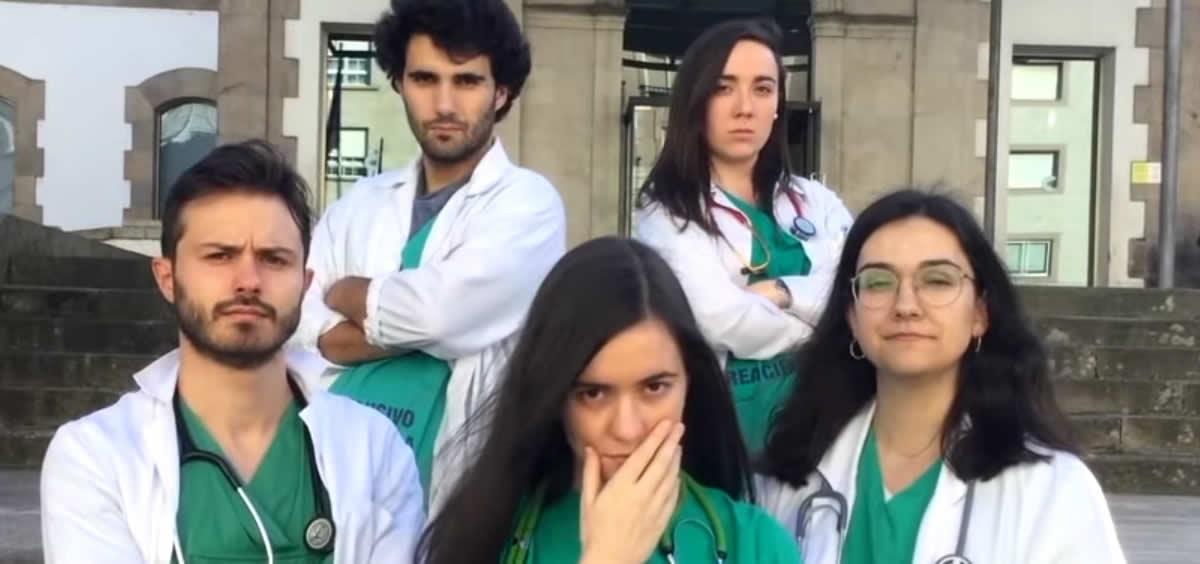 El vídeo de los residentes en prácticas de Pontevedra está volviéndose viral.