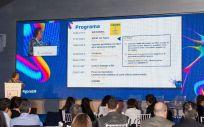 Imagen de la VIII Reunión Ágora de Neuroexpertos celebrada durante el día 5 de abril de 2019. Ponente: Dra. Villar, Jefa del Servicio de Inmunología del Hospital Universitario Ramón y Cajal de Madrid & Coordinadora de la Red Española de EM.