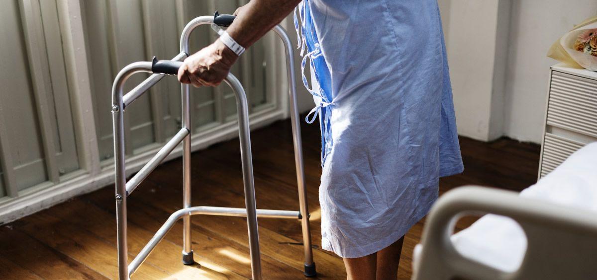 Paciente con Parkinson