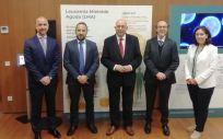 Presentación del medicamento de Novartis para la leucemia mieloide aguda