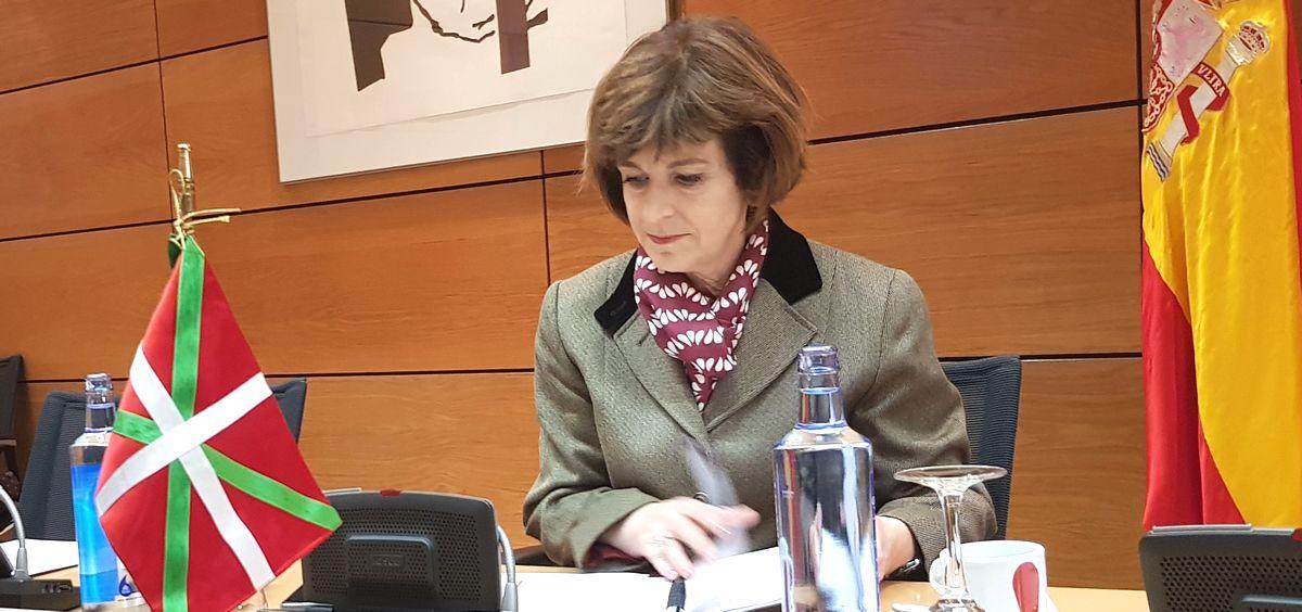 Nekane Murga, consejera de Salud del País Vasco.