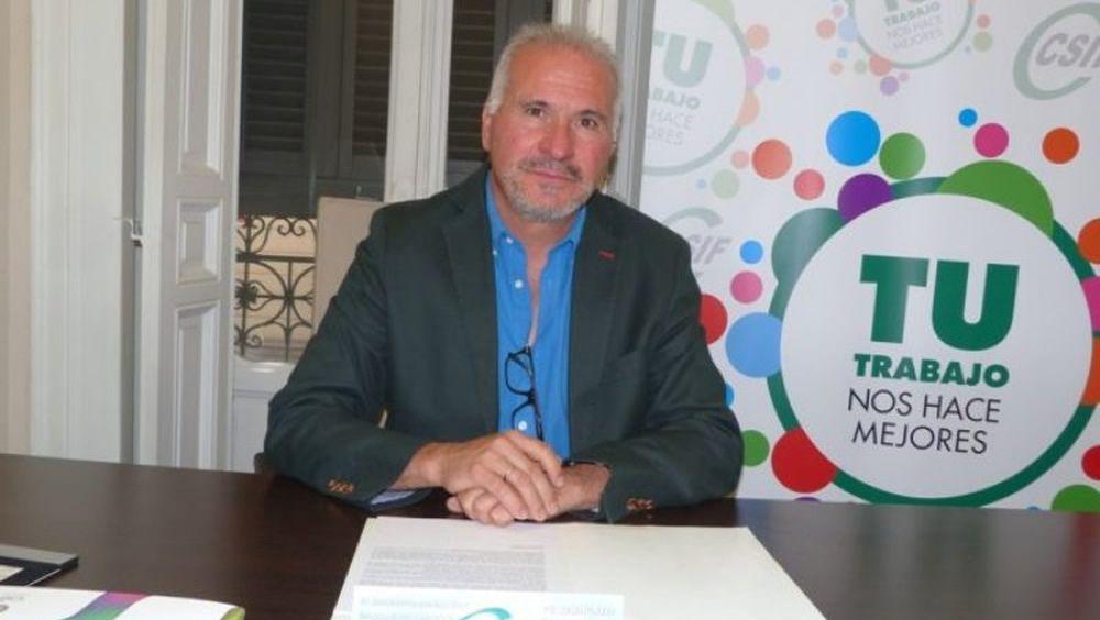 Francisco Javier Martinez, presidente del Sector Nacional de Sanidad de CSIF