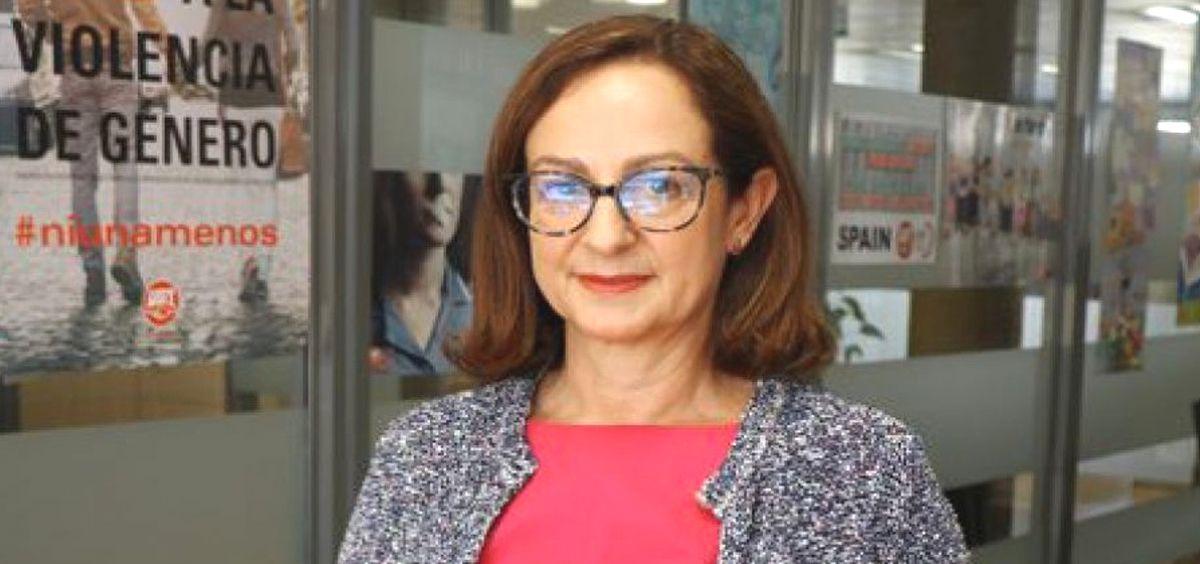 Gracia Álvarez, secretaria del sector salud, sociosanitario y dependencia de UGT.