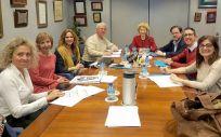 Reunión en la que se ha analizado el papel de los profesionales de Enfermería en el abordaje de la diabetes