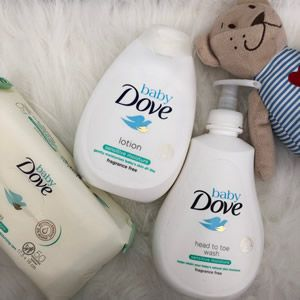 Cosmética Infantil. Dove Sensitive