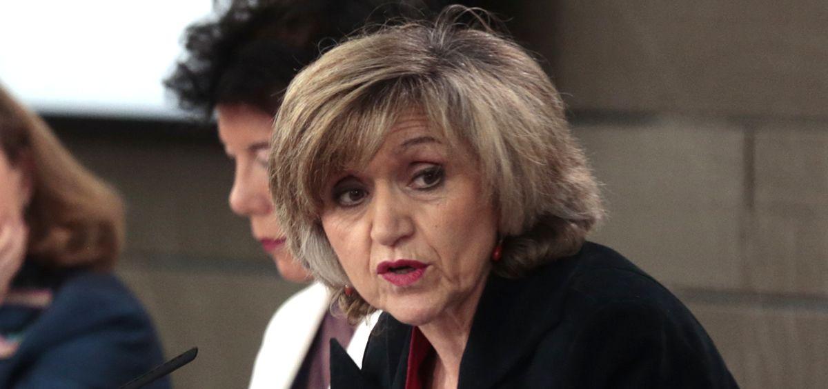 María Luisa Carcedo, ministra de Sanidad (Foto: La Moncloa).