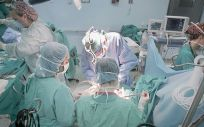 Operación de trasplante de un pulmón en un hospital del Servicio Andaluz de Salud (SAS).