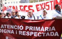 Movilizaciones de Metges de Catalunya en el pasado mes de noviembre.