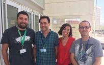 En la foto, parte de los miembros del grupo de investigación de la Universidad de Granada que ha llevado a cabo este trabajo.