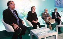 Mesa de expertos en la que han participado Amós García Rojas, Patricia Massetti, Antoni Trilla y Manuel Cotarelo