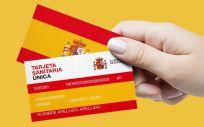 Versión de la tarjeta sanitaria que quiere implantar Ciudadanos en el conjunto del Estado.