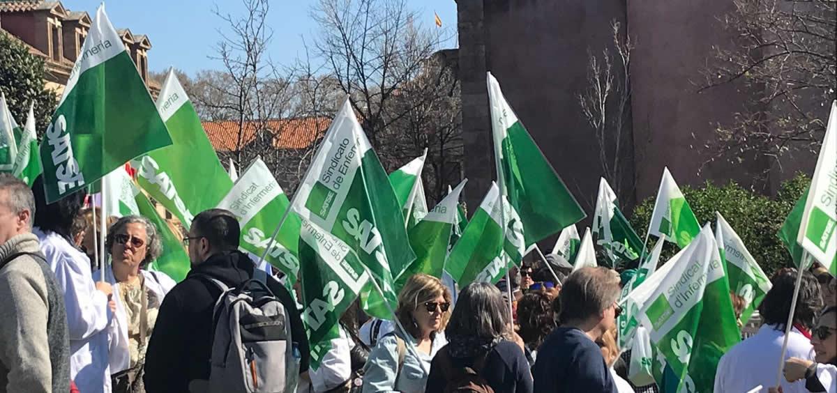 Satse pide con estos paros parciales que se dé una mayor dotación de enfermeras, matronas y fisioterapeutas en Cantabria