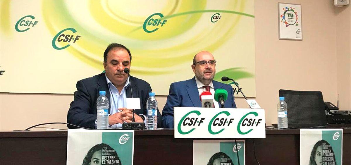 Representantes de CSIF.