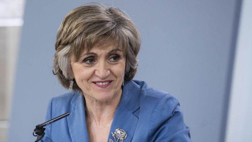 María Luisa Carcedo, ministra de Sanidad en funciones. (Foto. La Moncloa)