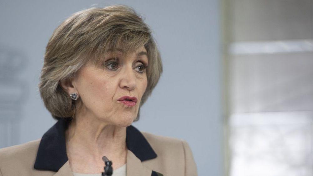 La ministra de Sanidad, María Luisa Carcedo, tras el Consejo de Ministros (Foto: La Moncloa)
