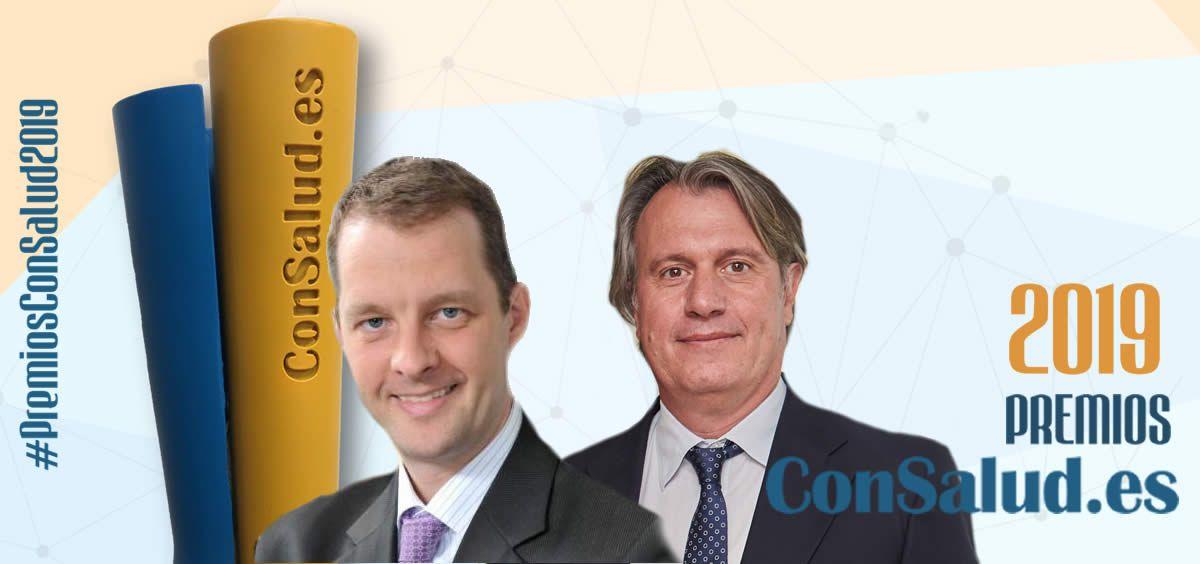 Peter Ploeger y Santiago Culí, Premio ConSalud 2019