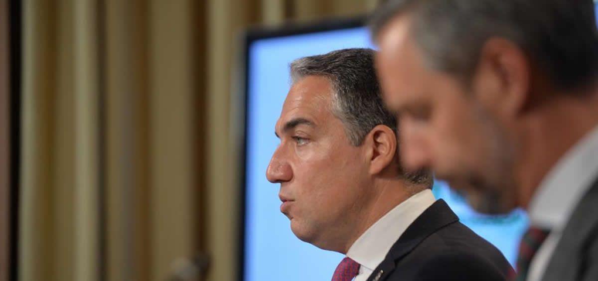 Elías Bendodo, portavoz del Gobierno andaluz, ha anunciado el impulso del Plan Andaluz de Atención al Ictus