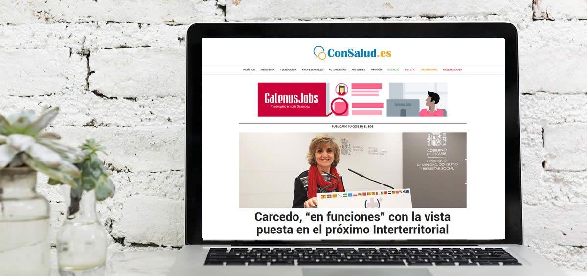 ConSalud.es supera los dos millones de páginas vistas en junio