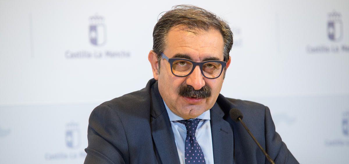 Jesús Fernández Sanz, consejero de Sanidad de Castilla La Mancha. (Foto: Gobierno de Castilla-La Mancha)