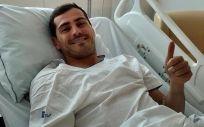Iker Casillas permanece ingresado en el CUF Porto Hospital tras sufrir un infarto agudo de miocardio. (Foto vía Instagram)