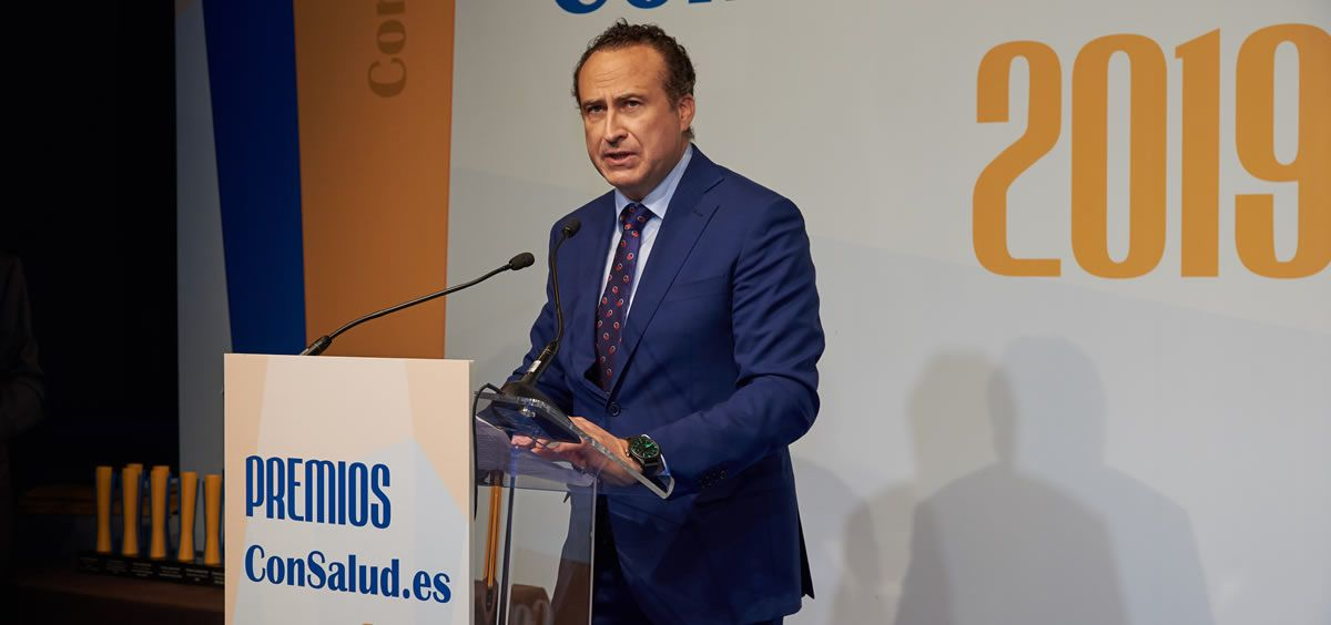 El CEO de Real Life Data, José Luis Enríquez. (Foto. ConSalud.es)