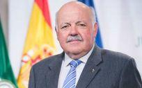 Jesús Aguirre, consejero de Salud y Familias de la Junta de Andalucía