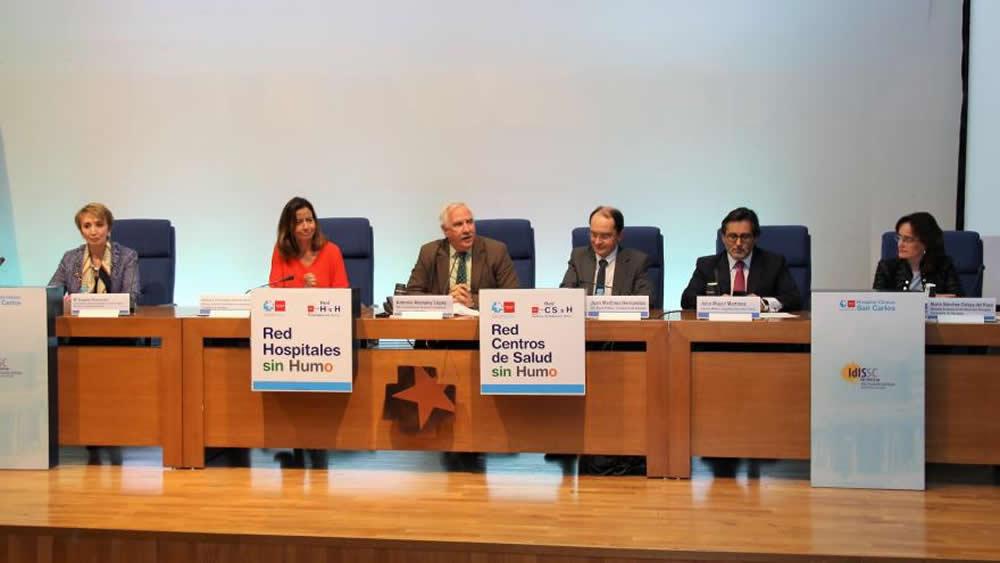 La sanidad madrileña ha entregado la 'Acreditación Oro' a 13 centros sanitarios por sus actuaciones contra el tabaquismo