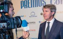 Ángel Garrido, expresidente de la Comunidad de Madrid, valora a ConSalud.es su premio como 'Político del año más sensibilizado con la Sanidad'.
