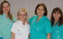 Equipo enfermeras del Hospital La Luz