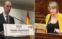 Jesús Vázquez Almuiña y Alba Vergés