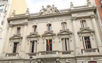 Fachada de la Real Academia Nacional de Medicina de España, donde tendrá lugar la reunión anual del consorcio GenObIA