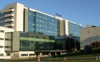 Fachada del Complejo Hospitalario Universitario de Santiago (CHUS)