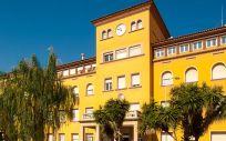 Fachada del Hospital de Viladecans