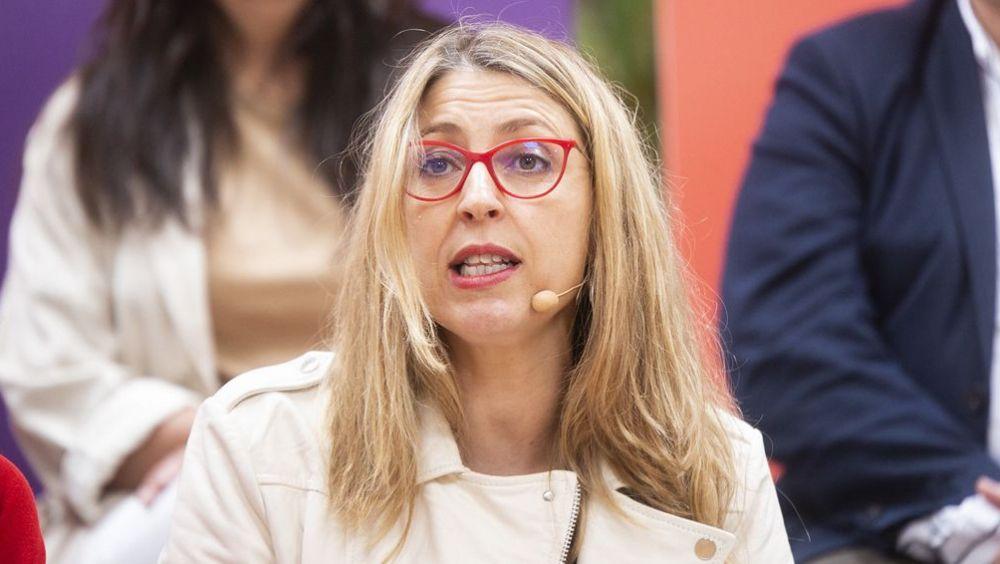 María Eugenia Rodríguez Palop, candidata de 'Unidas Podemos Cambiar Europa' al Parlamento Europeo.