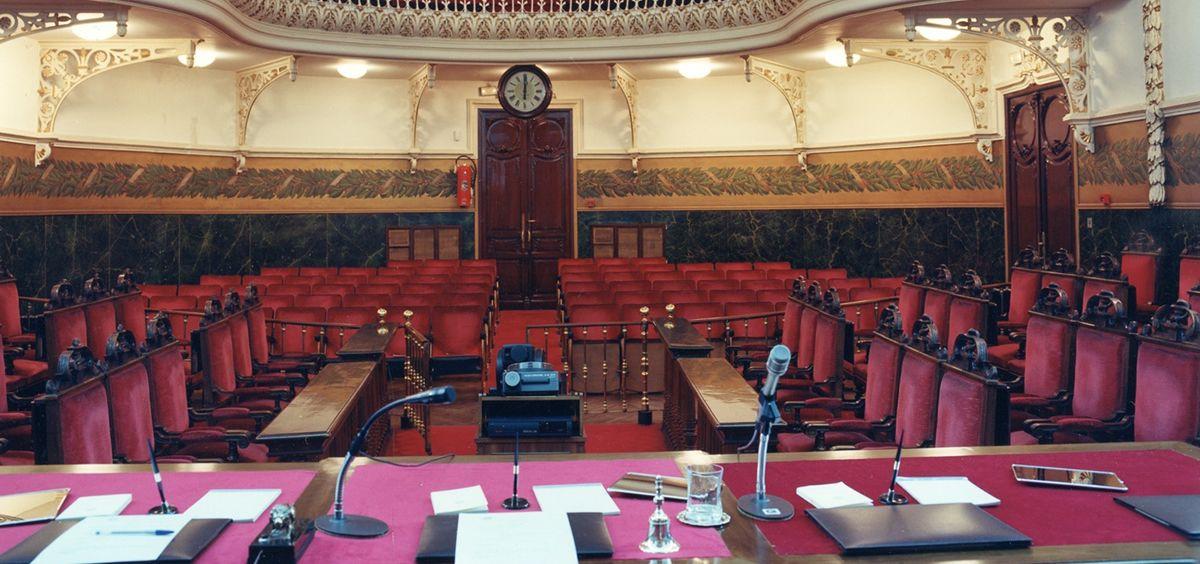 Interior de la Real Academia Nacional de Medicina de España, donde tendrá lugar la reunión anual del consorcio GenObIA