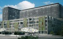 Así quedará la fachada del nuevo Hospital Universitario La Paz, integrado en la red pública de la Comunidad de Madrid