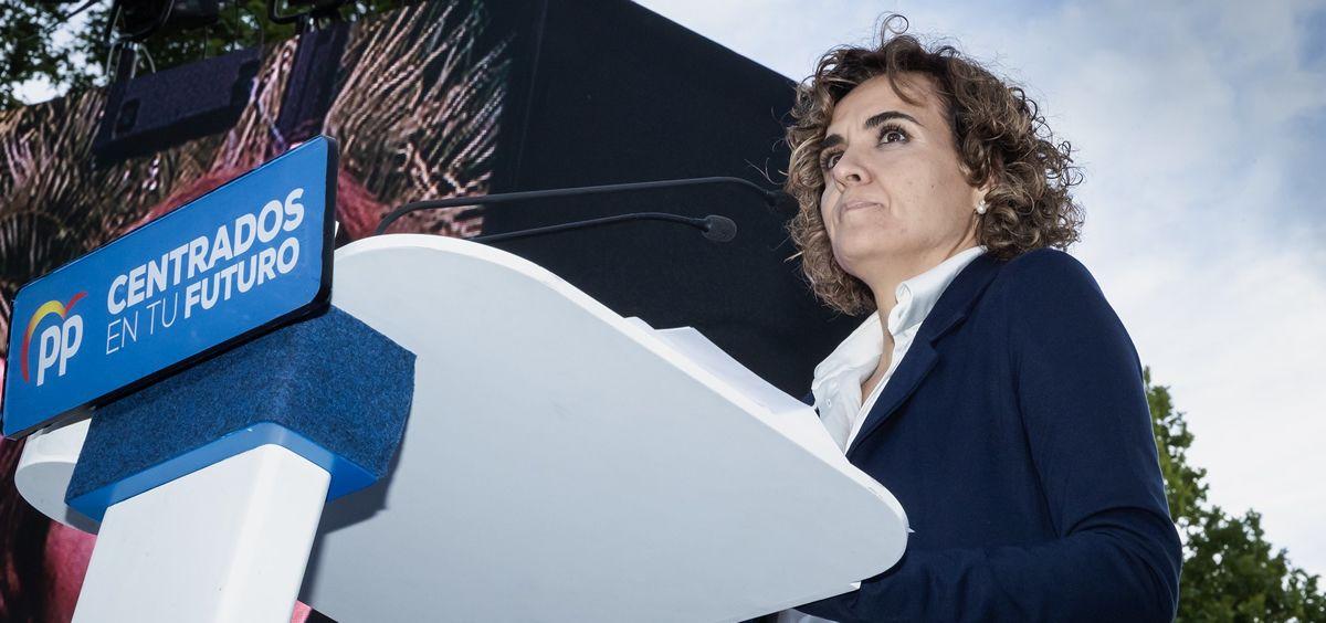 Dolors Montserrat, candidata del PP al Parlamento Europeo.