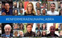 La campaña #EnfermeraEnUnaPalabra está impulsada por el Consejo General de Enfermería (CGE)