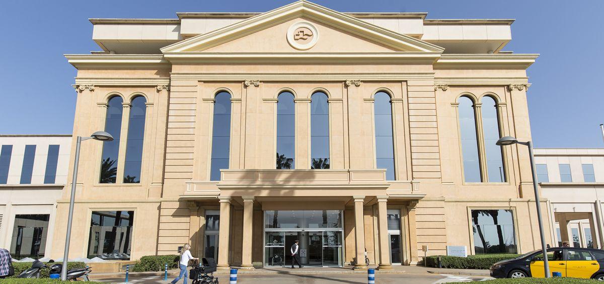Fachada del Centro Médico Teknon, primer hospital europeo en acoger el Practicum de la JCI
