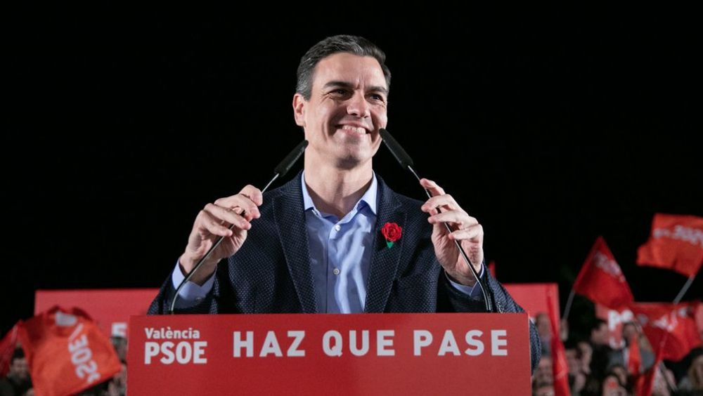 Pedro Sánchez, presidente del Gobierno en funciones y secretario general del PSOE.