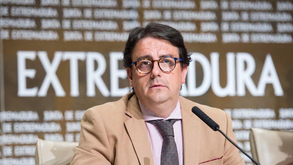 José María Vergeles, consejero de Sanidad de Extremadura. (Foto. Junta de Extremadura)