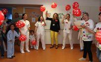 La consejera de Salud, María Martín, que ha participado en esta iniciativa