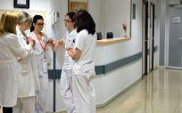 Trabajadores de hospital