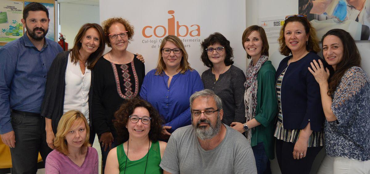 Foto de familia de la Junta del Gobierno del Coiba