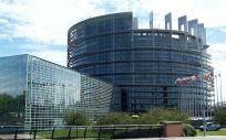 Sede del Parlamento Europeo.