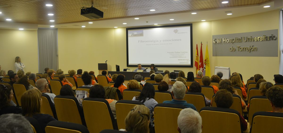 Jornada de fibromialgia en el Hospital Universitario de Torrejón