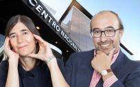 María Blasco, directora del CNIO y Manuel Hidalgo, coordinador del Programa de Oncología Traslacional del Hospital Universitario de Fuenlabrada