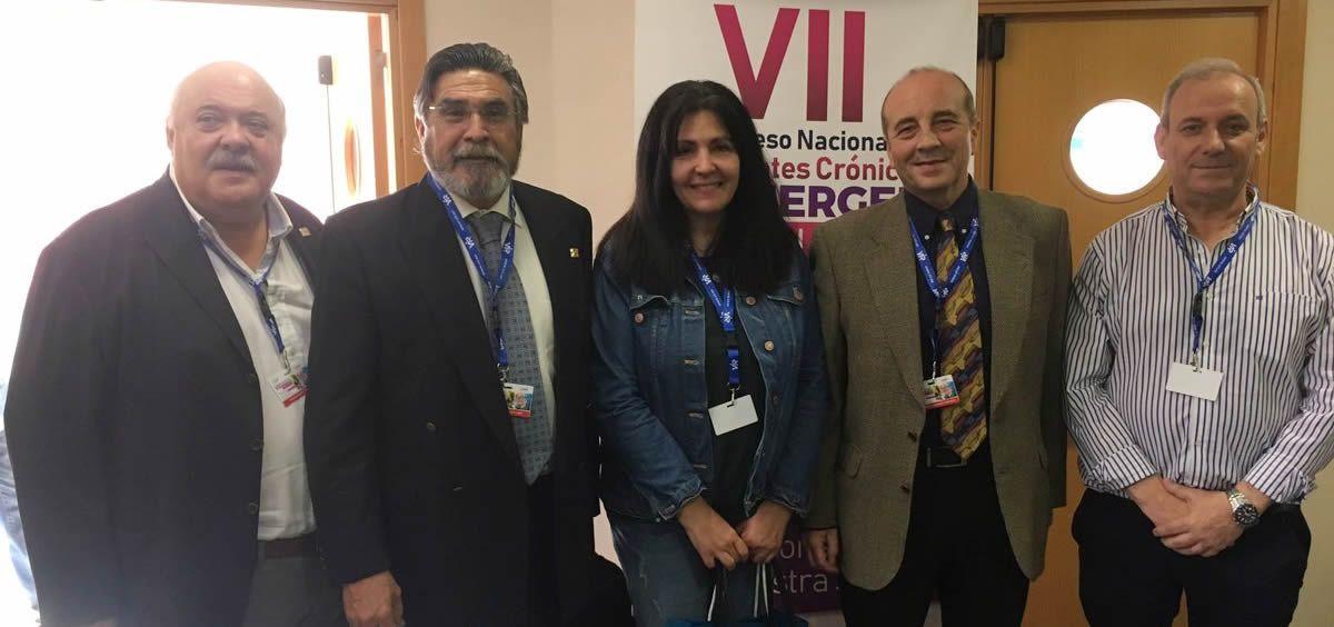 Instantes previos a la inauguración del VII Congreso Nacional de Pacientes Crónicos SEMERGEN - Murcia 2019